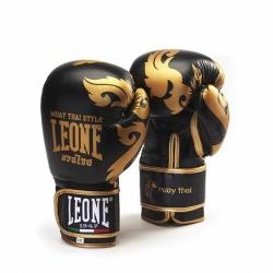 Rękawice bokserskie LEONE GN031 10 oz czarne