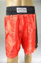 Spodenki sportowe krótkie SBOX-1 M czerwone z czarnym lampasem