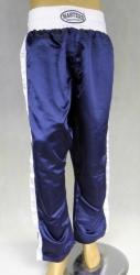 Spodnie sportowe długie granatowe z białym lampasem SKBP-2