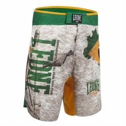 Spodenki MMA LEONE AB771 BRAZIL białe