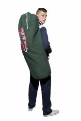 Torba sportowa - worek TOP TEN 105 cm x 45 cm zielona TOR-W