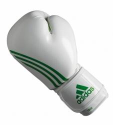 Rękawice bokserskie ADIDAS - ADIBL04/A 8 oz biało-zielone