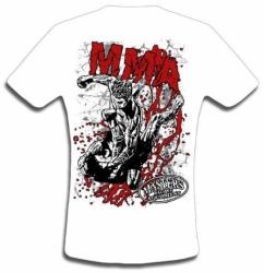 T-shirt MASTERS - TS-20 biały NOWOŚĆ!!!