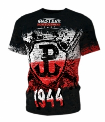 Koszulka treningowa MASTERS FIGHTWEAR COLLECTION - PATRIOTIC